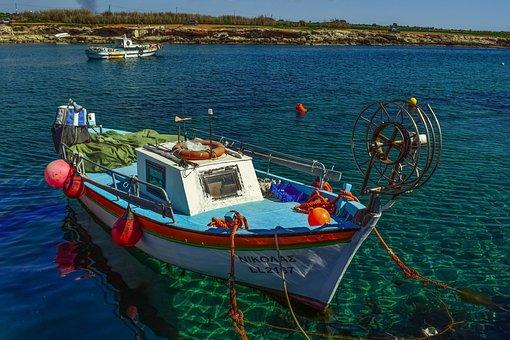 Boat, Harbor, Fishing Shelter, Sea, Traditional