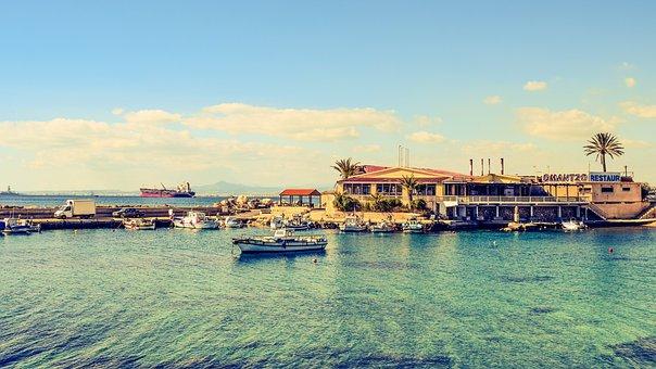Fishing Shelter, Harbor, Boats, Sea, Peaceful, Romantzo