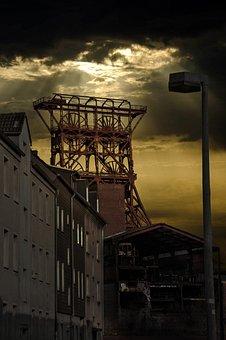 Gelsenkirchen, Zeche Consol, Ruhr Area, Mining