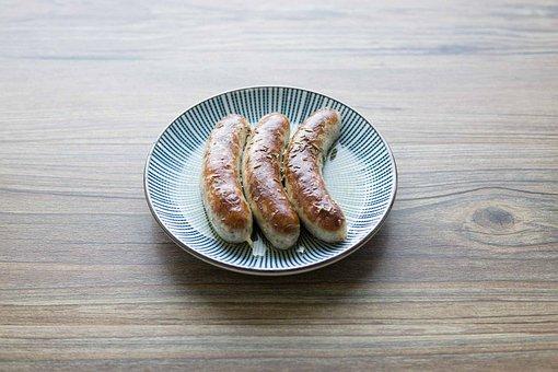 German Fried Sausage, Fried Sausage, German Sausage
