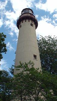 Grosse Point Light, Light House, Skokie, Beach