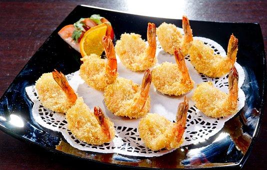 Free-shrimps, Korean Cuisine, Food, Restaurant