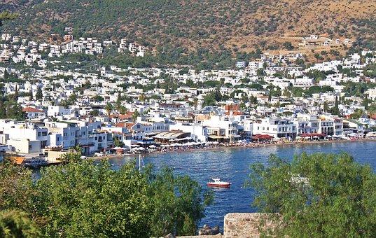 The Coast, Bodrum, Turkey, Haven, Marina, Aegean Sea