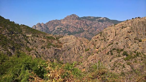 Calanches, Koriska, Red, Rock, Red Rocks, Stones