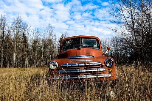 Truck, Rustic, Vintage, Old, Rusty, Car, Retro, Antique
