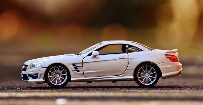 Mercedes Benz, Sl 65 Amg, White, Auto, Sports Car