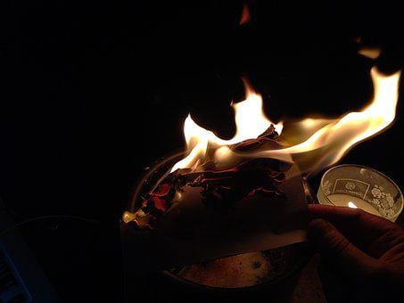Fire, Witch, Spell, Magic, Dark, Mystery, Witchcraft