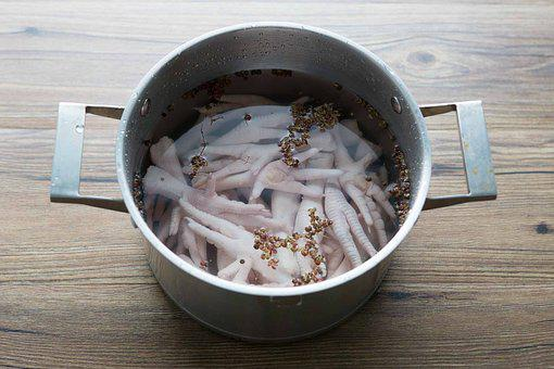 Stewed Raw Materials, Palmatum, Chicken Legs
