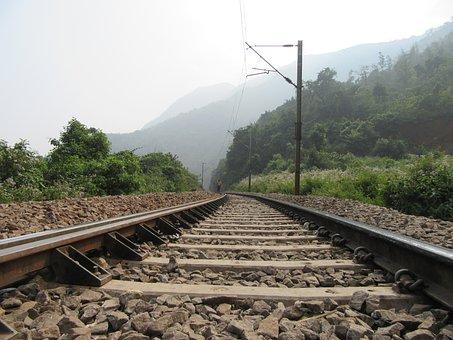 Railroad, Railway, Tracks, Train, Rail, Transport