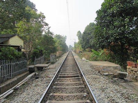 Line, Railroad, Transportation, Train, Travel, Rail