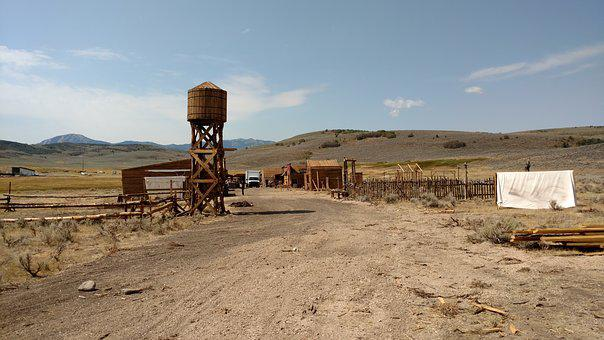 Western, Movie Set, Western Movie Set, Utah, Park City
