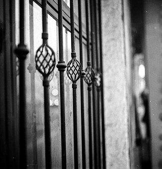Window Grill, Iron, Window, Decorative, Wrought, Metal