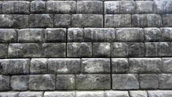 Wall, Stone, Grey, Texture, Background, Surface