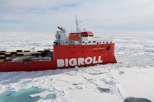 Bigroll Barentsz In The Ice, Bigroll, Vessel