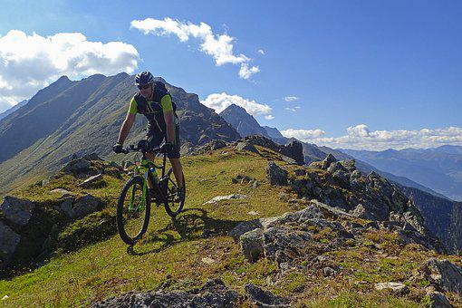 Biking, Mountain Bike, Mountains, South Tyrol