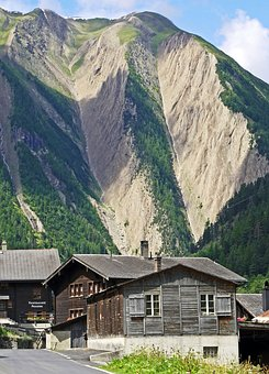 Switzerland, Valais, Alpine, Fold Mountains, Binntal