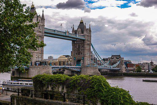 London, Tower Bridge, Britain, England