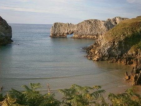 Beach, Asturias, Cantabrian Coast
