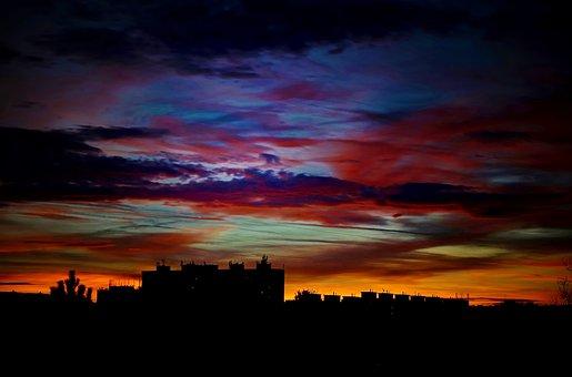 City, Colors, Reverie, Clouds, Bohnice