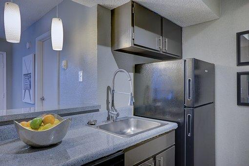 Kitchen, Apartment, Home, Interior, House, Design