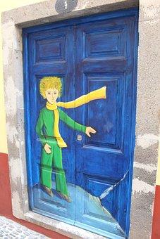 Door, Little Prince, Saint Exupery