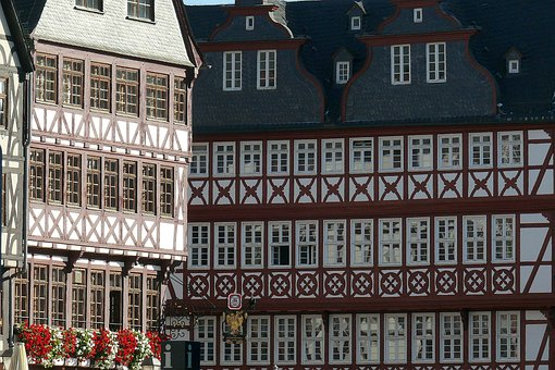 Homes, Facades, Fachwerkhäuser, Truss, Architecture