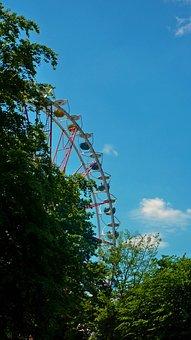 Ferris Wheel, Fair, Year Market, Carousel