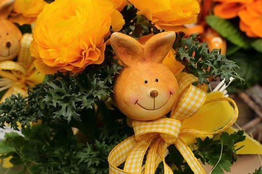 Easter Bunny, Deco, Decoration, Easter, Close, Figure