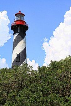 St Augustine, Lighthouse, Florida