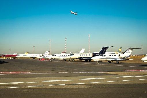 Airport, Aircraft, Field, Fly, Turbine, Transport