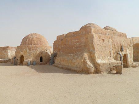 Star Wars, Sand, Desert, Africa, Tunisia, Mos Espa