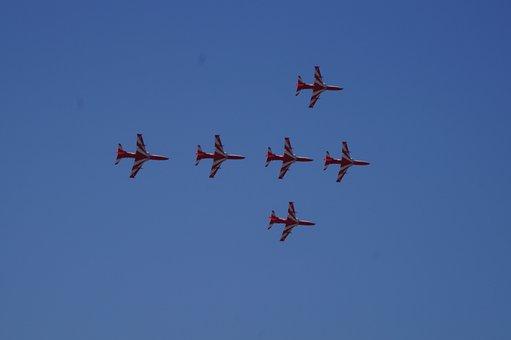 Aerobics, Plane, Aero India