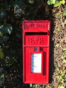 Postbox, Red, Mail, Mailbox, Post, Letter, Traditional