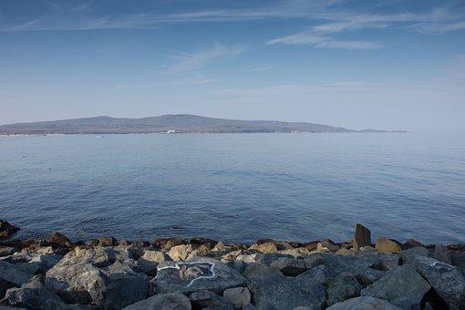 Sea, Black Sea, Boat, Primorsko, Bulgaria, Water