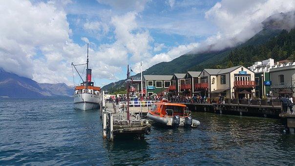 Queenstown Pier, Pier, New Zealand