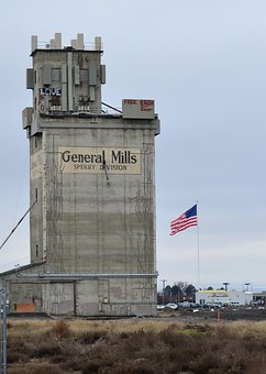 Storage, Silo, Old, Agriculture, Industry, Grain