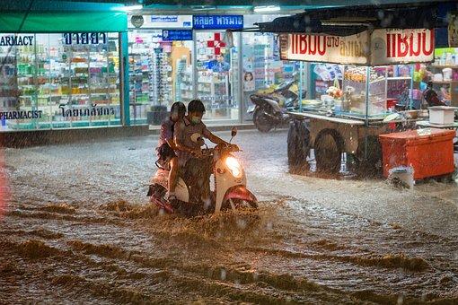 Rain, Heavy, Flood, Extreme, Weather, Bad, Water, Storm