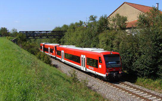 Vt 650, Hermaringen, Brenz Railway, Kbs 757, Railway