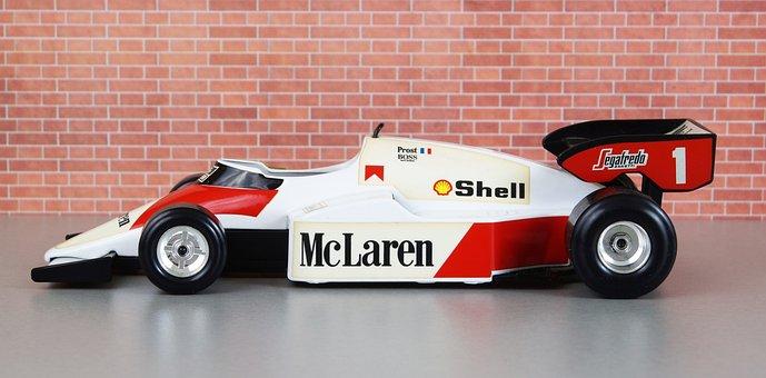 Mclaren, Formula 1, Alan Prost, Auto, Toys, Model Car