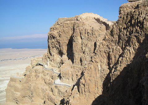 Masada, Israel, Desert, Archeology, Jewish, Fortress