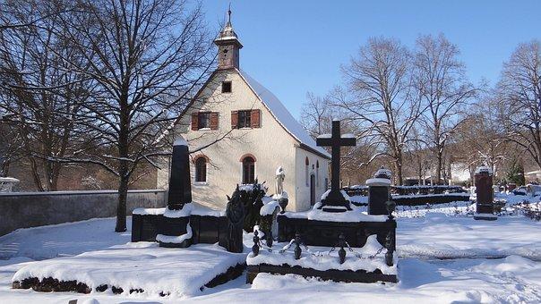 Cemetery, Graves, Itzelberg