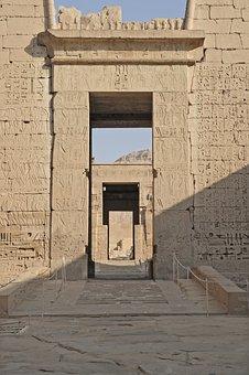 Egypt, Temple, Temple Complex, Hieroglyphics, Nile