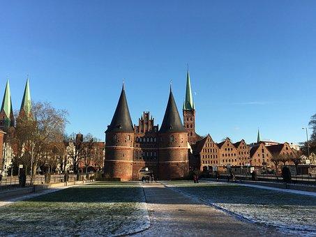 Lübeck, Holsten Gate, Landmark, City Gate