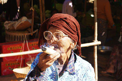 Myanmar, Burma, Human, Market Woman, Portrait, Travel