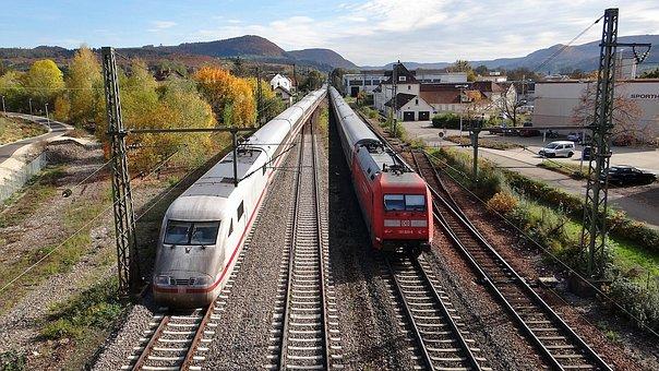 Ice, Br 101, Fils Valley Railway, Kbs 750, Train
