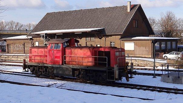 Br 294, Goods Shed, Giengen, Brenz Railway, Kbs 757