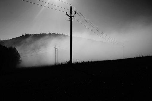 Electrics, Fog, Summer, Morning