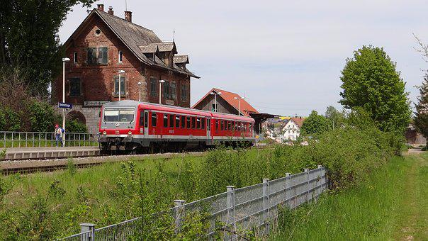 Niederstotzingen, Vt 628 Units, Railway Station