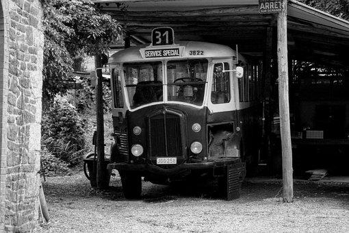 Bus, Old, Oldtimer, School Bus, Retro, Vintage
