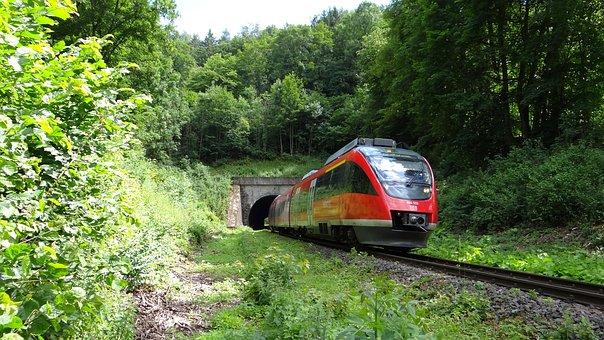 Vt 644, Railway Tunnel, Tunnel, Brenz Railway, Kbs 757